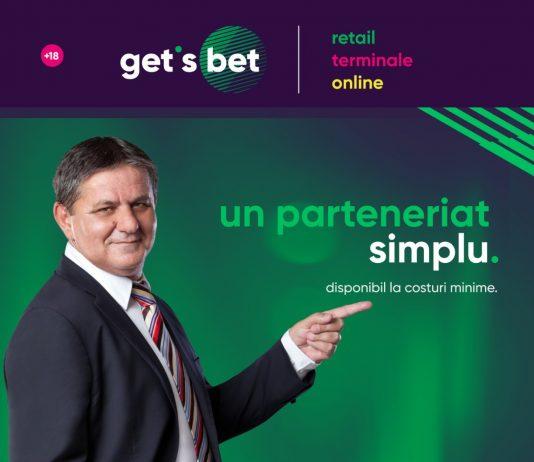 Marius Lăcătuș, Ambasador Get's Bet în România