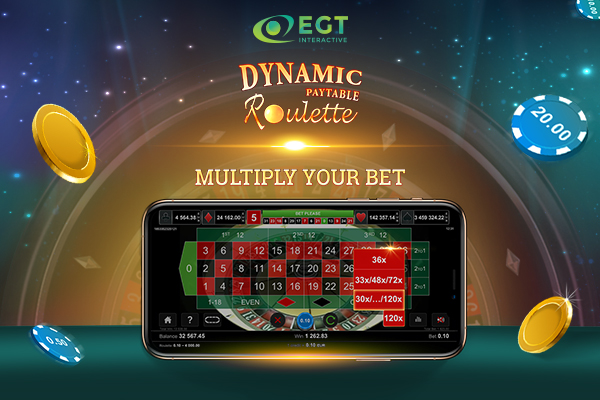 O nouă experiență de ruletă New iGaming roulette experience launched on the market by the Bulgarian company EGT Interactive, available for desktop and mobile.