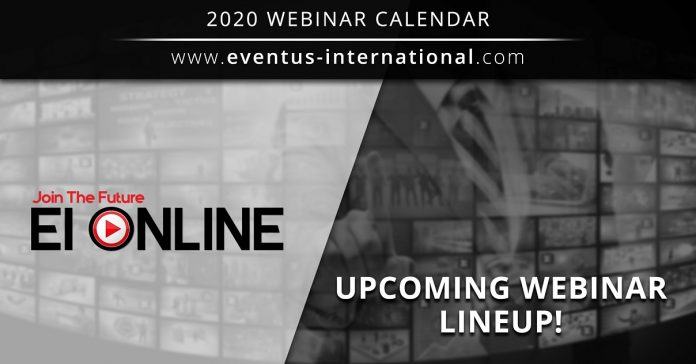 Eventus International ONLINE Webinars