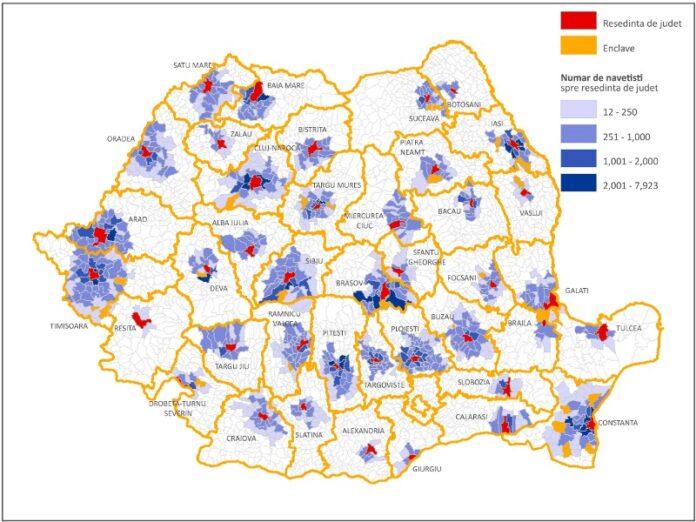 Zone metropolitane pentru care nu este necesară Declarație