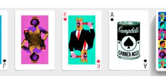 Modelele de cărți de joc Playing card