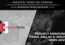 Eventus International announces Ismail Vali