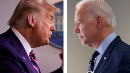 Donald Trump and Joe Biden Donald Trump și Joe Biden