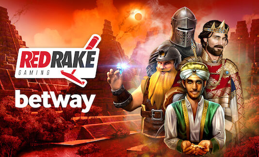 Betway has signed a partnership with Red Rake