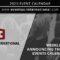 Eventus International Weekly Overview