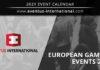Eventus International European Gaming Events 2021