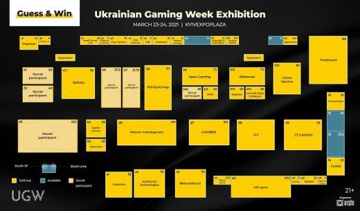 Ukrainian Gaming Week 2021 plan