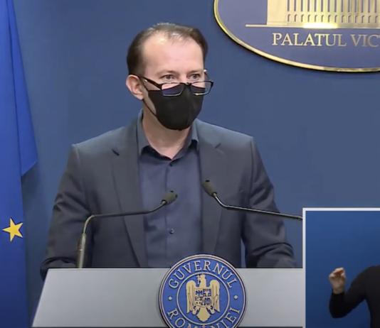 Declarație Florin Cîțu