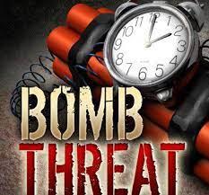 A bomb threat